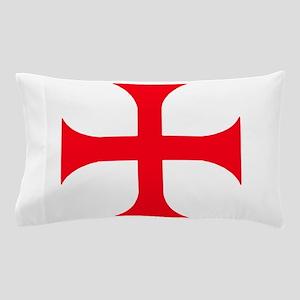 Templar Red Cross Pillow Case