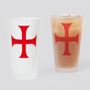 Templar Red Cross Drinking Glass
