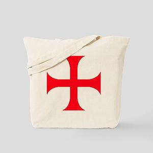 Templar Red Cross Tote Bag
