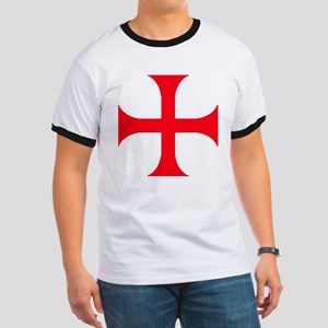 Templar Red Cross Ringer T
