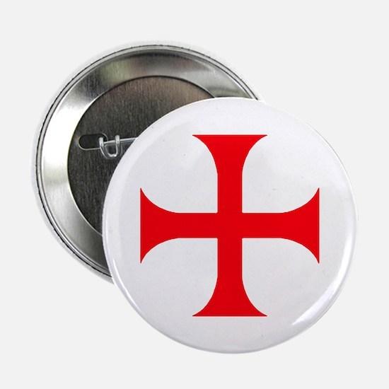 """Templar Red Cross 2.25"""" Button (10 pack)"""
