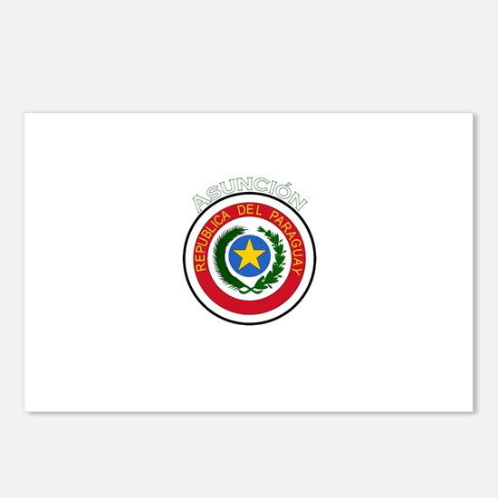 Asuncion, Paraguay Postcards (Package of 8)