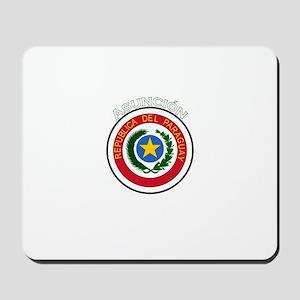 Asuncion, Paraguay Mousepad