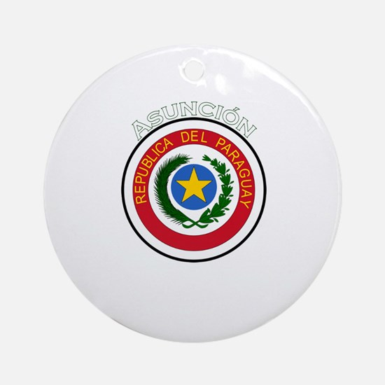 Asuncion, Paraguay Ornament (Round)
