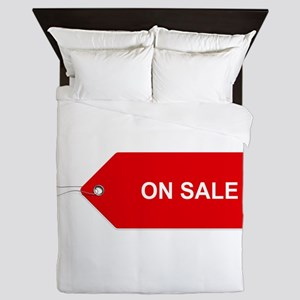 Red Tag Sale - On Sale Queen Duvet