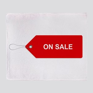 Red Tag Sale - On Sale Throw Blanket