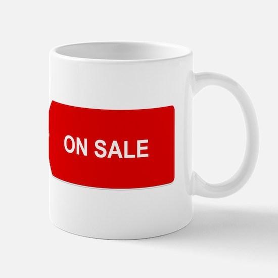 Red Tag Sale - On Sale Mugs