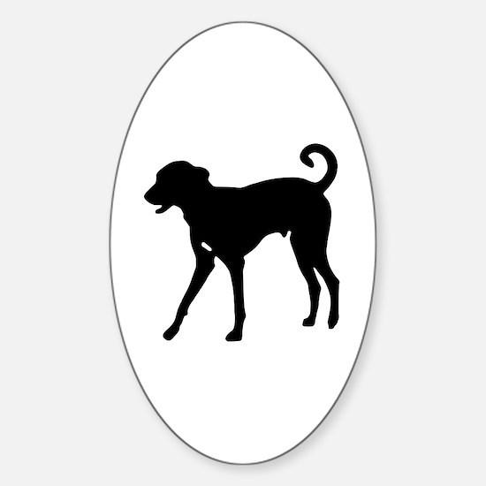 Bull snake Sticker (Oval)