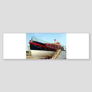 Lifeboat, Land's End, England Bumper Sticker