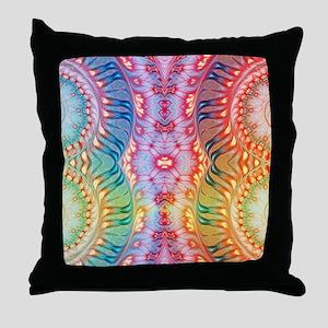 Shades of Rainbow Throw Pillow