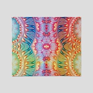 Shades of Rainbow Throw Blanket