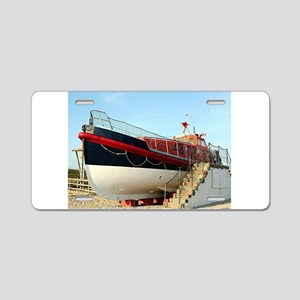 Lifeboat, Land's End, Engla Aluminum License Plate