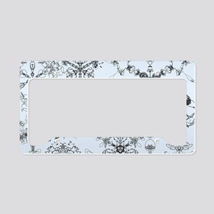 Winter Snow License Plate Holder