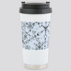 Winter Snow Stainless Steel Travel Mug