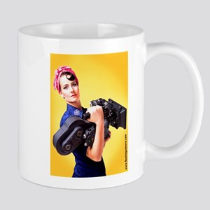 Rosie the Camera Woman Mugs