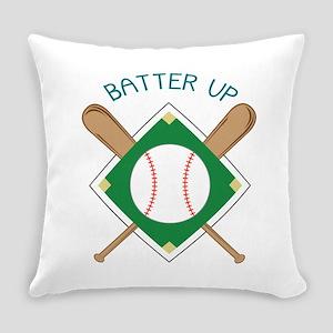 Baseball Batter Everyday Pillow