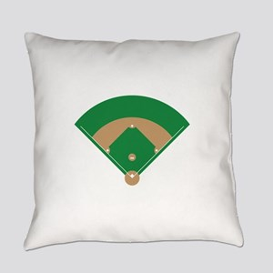 Baseball Field Everyday Pillow