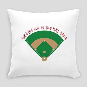 Baseball Game Everyday Pillow