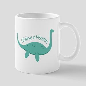 Believe In Monsters Mugs