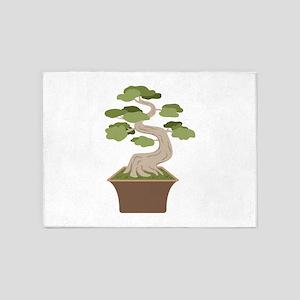 Bonsai Tree 5'x7'Area Rug