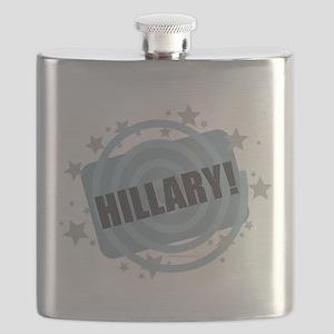 Hillary - Clinton Flask
