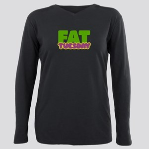 Fat Tuesday Plus Size Long Sleeve Tee