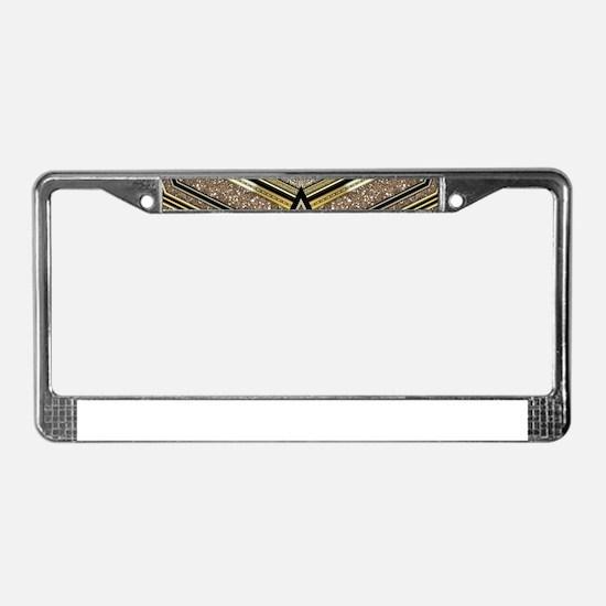 Art Deco Arrowz License Plate Frame