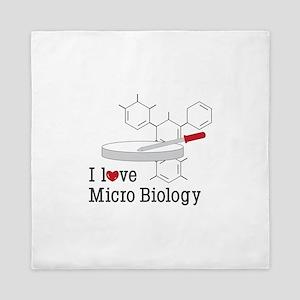 Micro Biology Queen Duvet