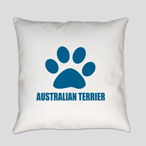 Australian Terrier Dog Designs Everyday Pillow