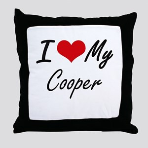 I love my Cooper Throw Pillow