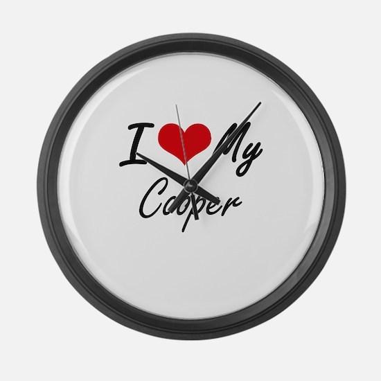 I love my Cooper Large Wall Clock
