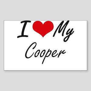 I love my Cooper Sticker