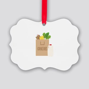 Groceries Ornament