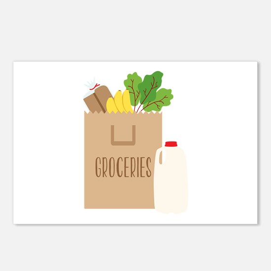 Groceries Postcards (Package of 8)