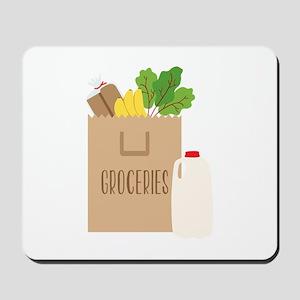 Groceries Mousepad