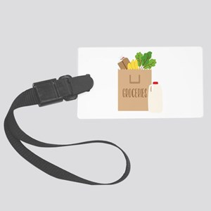 Groceries Luggage Tag
