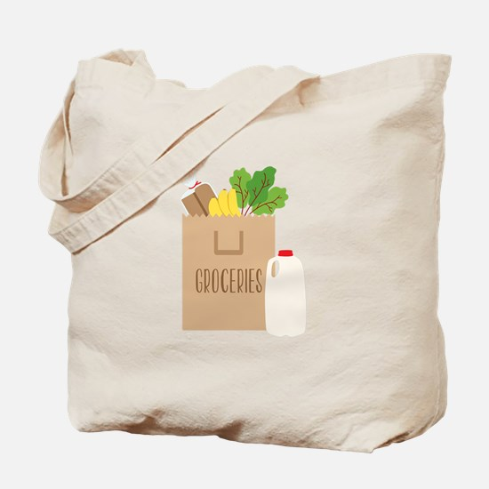 Groceries Tote Bag