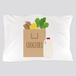Groceries Pillow Case