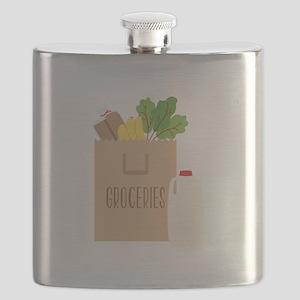Groceries Flask