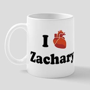 I (Heart) Zachary Mug