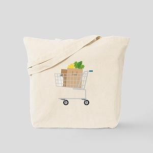 Shopping Cart Tote Bag