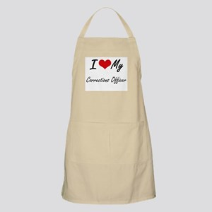 I love my Corrections Officer Apron