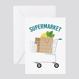 Supermarket Greeting Cards