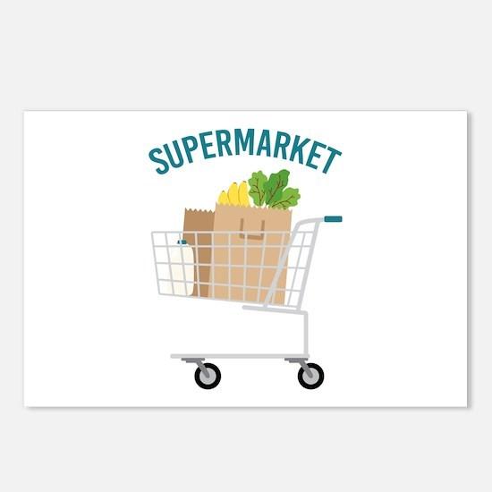 Supermarket Postcards (Package of 8)