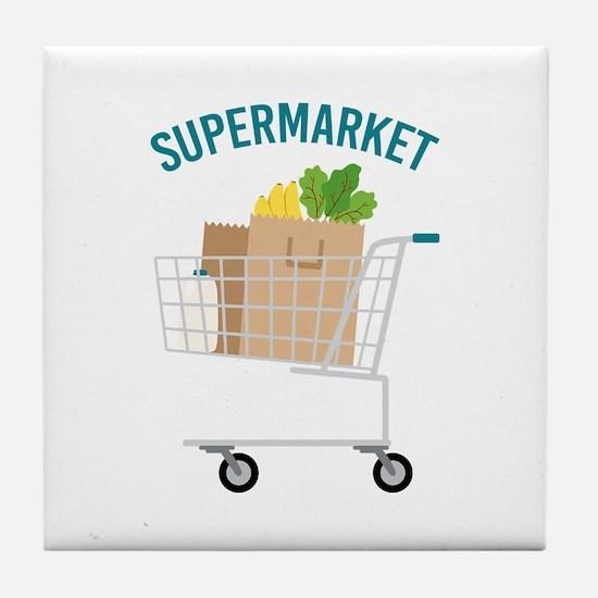 Supermarket Tile Coaster