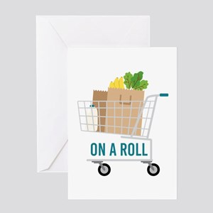 On A Roll Greeting Cards