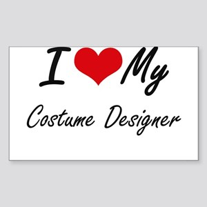 I love my Costume Designer Sticker