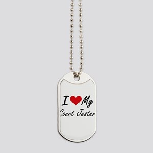 I love my Court Jester Dog Tags