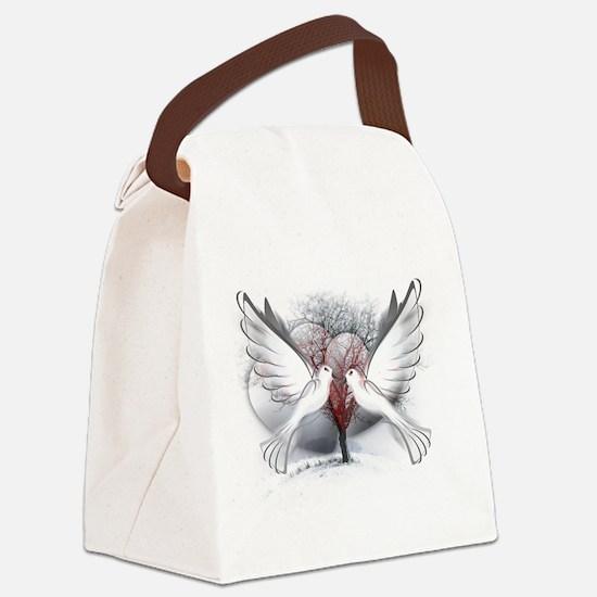 Cute Yule Canvas Lunch Bag