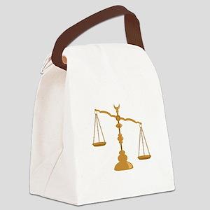 Antique Scale Canvas Lunch Bag